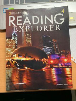 🚚 Reading explorer 4 2nd edition second 二手