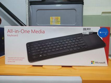 Microsoft AIO Media Keyboard Wireless