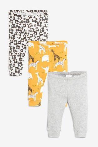 Next UK animal print leggings set