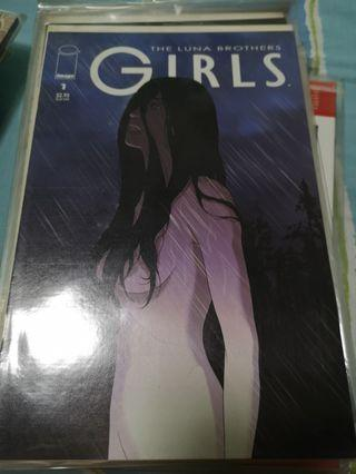 🚚 Image comics Girls by the Luna Brothers #1-10