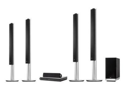 LG 3D Home Theater system + Blu-Ray DVD player