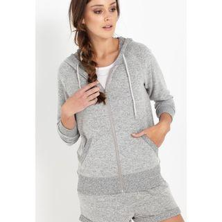 Cotton On Super Soft Front Zip Hoodie Jacket Outerwear Cardigan