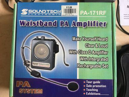 Voice Amplifier,, Portable Professional Wired Microphone ,, Waistband PA Amplifier