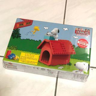 降價🉐BanBao 邦寶積木 史努比 積木組合 史努比積木 玩具 附提袋