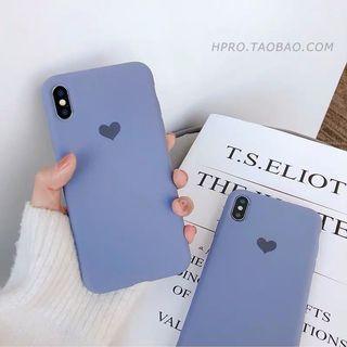 🚚 [PO] Iphone heart logo phone cover