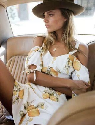 For Love and Lemons - Limonada mini dress