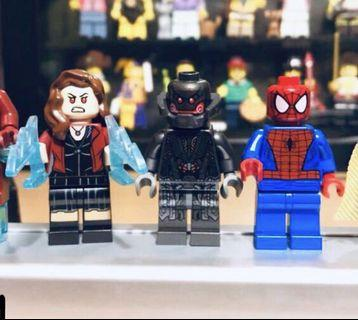 Lego 人仔 Minifigures - Scarlet witch, Ultron & Spider-man