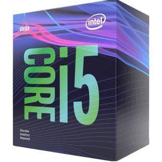 i5-9400F CPU + Intergrated Intel stock cooler