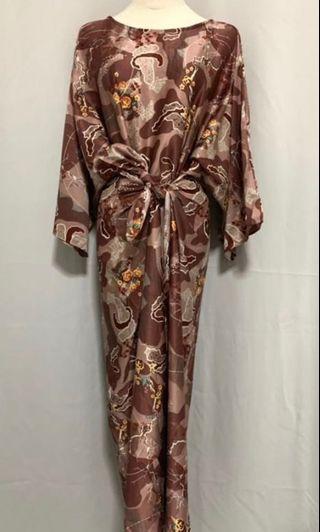 Hari Raya Batik Rope Pario Dress