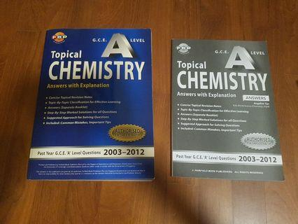 H2 A Level Chemistry Topical TYS 2003-2012
