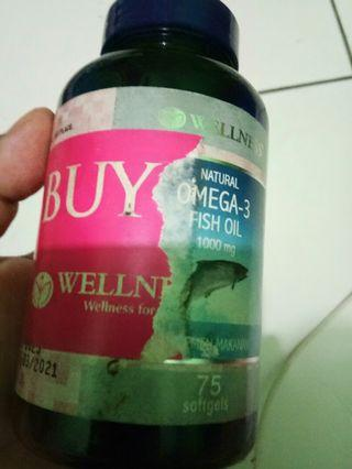omega 3 wellness natural omega 3 fish oil 1000mg