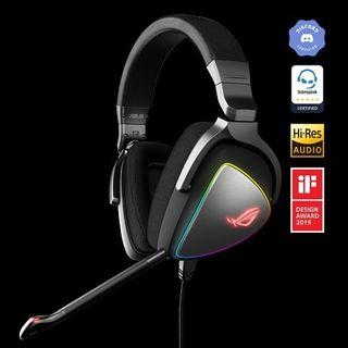 ASUS ROG Delta USB-C Gaming Headset - with USB 2.0 Adapter
