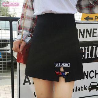 Hw skirt zipper