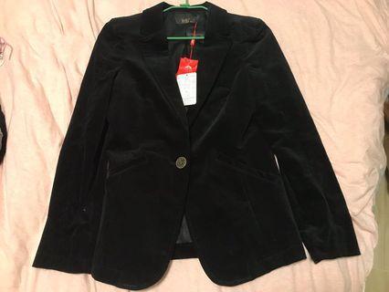 🚚 全新專櫃外套 34/s 兩色 黑 墨綠