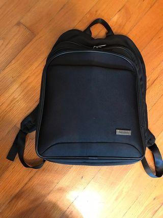 Samsonite backpack 黑色背包