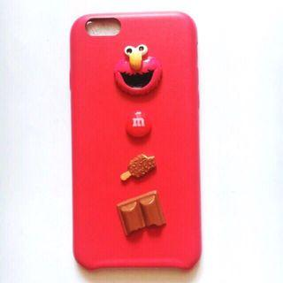 PRELOVED SOFTCASE ELMO 3D IPHONE 6/6s