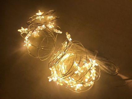 Star fairy warm white lights