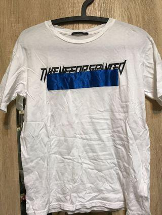 EMODA白色T恤