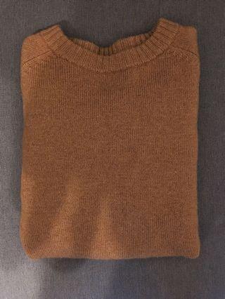🚚 GU 羊毛混紡上衣