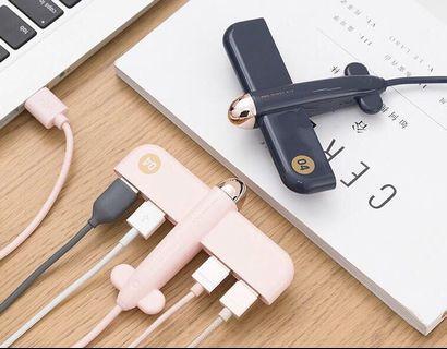 USB HUB 飛樂造型 4 口集線器 (MA014)