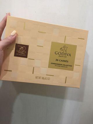 🚚 GODIVA72%巧克力禮盒36入(剩24)