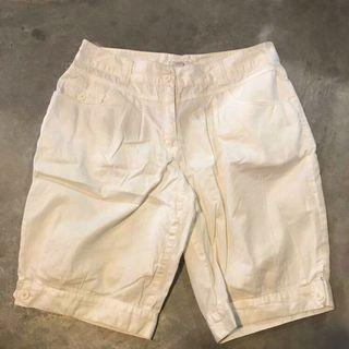 Bossini cream Bermuda shorts