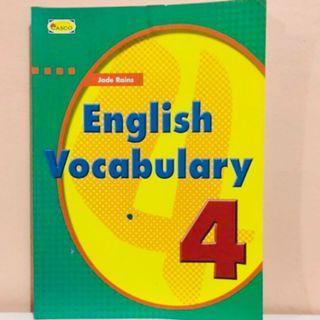 P4 English Vocabulary