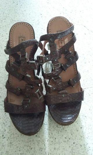 Alaia women's platform heels