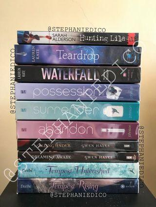 Young Adult/New Adult books!