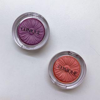 🚚 💄全新小花腮紅#08甜瓜橘 #15羅蘭紫