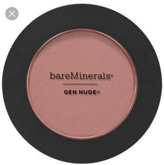 新 清 $80 bare minerals blush 6g (只郵寄 不面交)