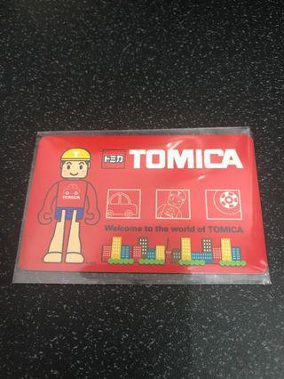 🚚 Tomica Limited Edition Ez link Card