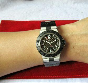 BVLGARI Diagono Aluminium Watch
