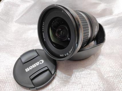 Canon EF-S 10-22mm f/3.5-4.5 USM 連原裝 hook