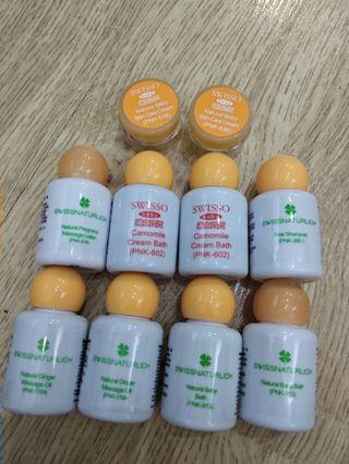 瑞士寶寶 swisso swissnaturlich shampoo ginger massage oil pregnacy massage lotion baby bath face balm 薑按摩油 $1each