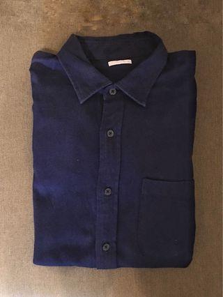 🚚 (降價) Gu 法蘭絨襯衫