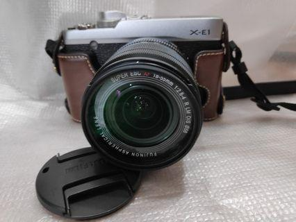 新淨 Fuji XE1 連 XF 18 55 鏡
