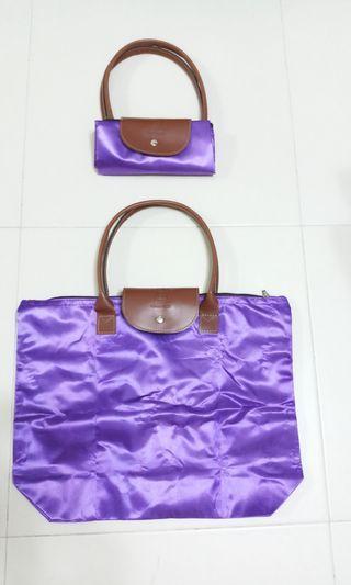 Purple Wanyang Foldable bag
