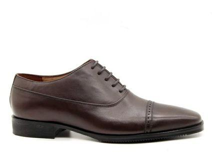Gilberto dark brown formal shoes