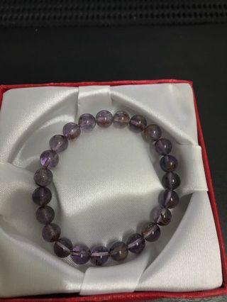 紫幽灵手链(8mm)