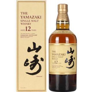 連盒 日版 山崎 12年 Yamazaki 日本威士忌 700ml 九龍區面交