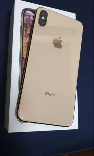 🚚 自售 iPhone xs max 256g 金色 完美手機保固中