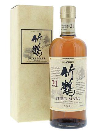 連盒 日版 竹鶴 21年 Taketsuru 日本威士忌 700ml