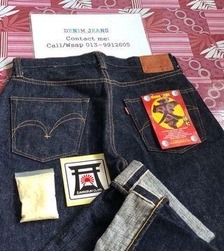 Original Samurai Jeans S5000vx 17oz Size Manual 32