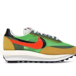 Nike Sacai Green Waffle