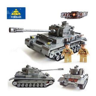 Lego-compatible WWII German Panzer IV Tank 1193pcs
