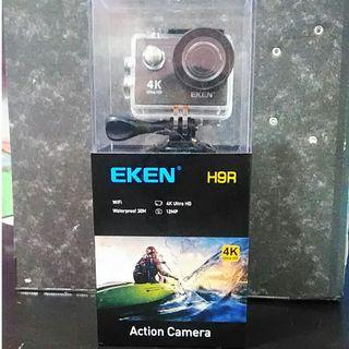 Eken h9r full set with micro sd card 16gb insert it