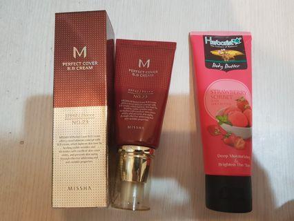 Missha Perfect Cover BB Cream 50 ml no 23 (Free Herborist Body Butter)