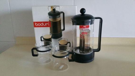 Bodum Brazil Coffee Maker 1.0 L with 2 glasses.