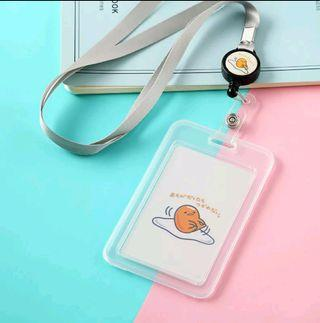 [PO]Cute Cartoon Characters extendable card holder with Lanyard